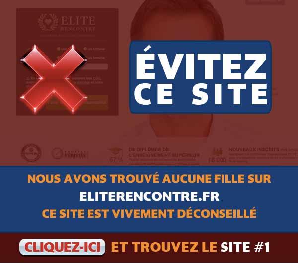 Arnaques sur EliteRencontre.fr